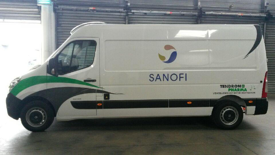SANOFI TENDRON vehicules propres